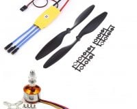 A2212 1400KV Brushless Motor + SimonK 30A ESC + 1045 Propeller Set