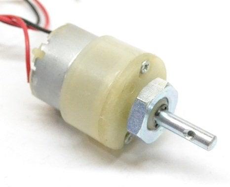 100 rpm dc motor