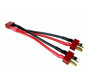 Safeconnect T-Connector Harness for 2 Packs in Parallel-1Pcs.