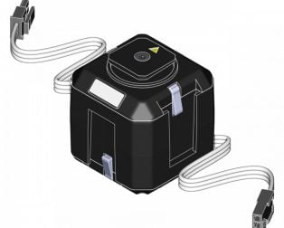 Cube Servo 6-18V DC 360⁰ Rotation Servo Motor