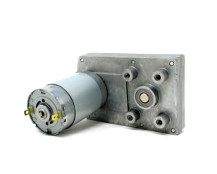 Rectangular GearBox Motor - 10RPM