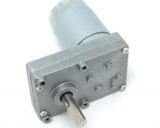 Rectangular Gearbox Motor - 100RPM