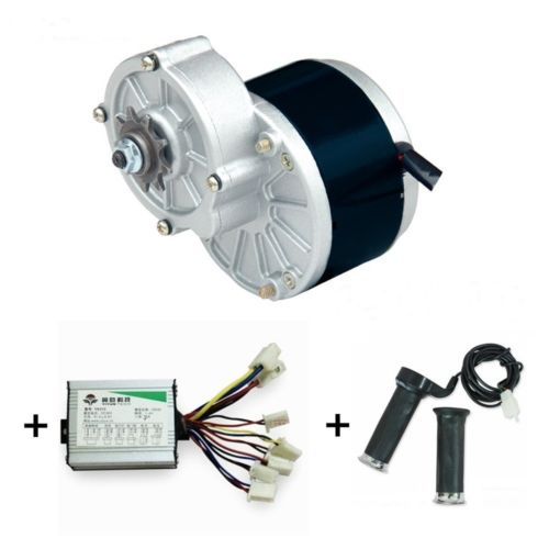 MY1016Z3 350W (GB)+ Motor Controller + Twist Throttle + Brake, DIY Electric Bicycle Kit