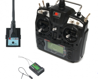 FS-TH9X 2.4GHz 9CH Upgrade Transmitter with FS-R9B Receiver