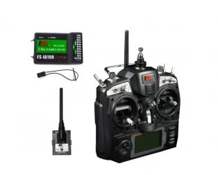 FS-TH9X 2.4GHz 9CH Upgrade Transmitter with FS-IA10B Receiver