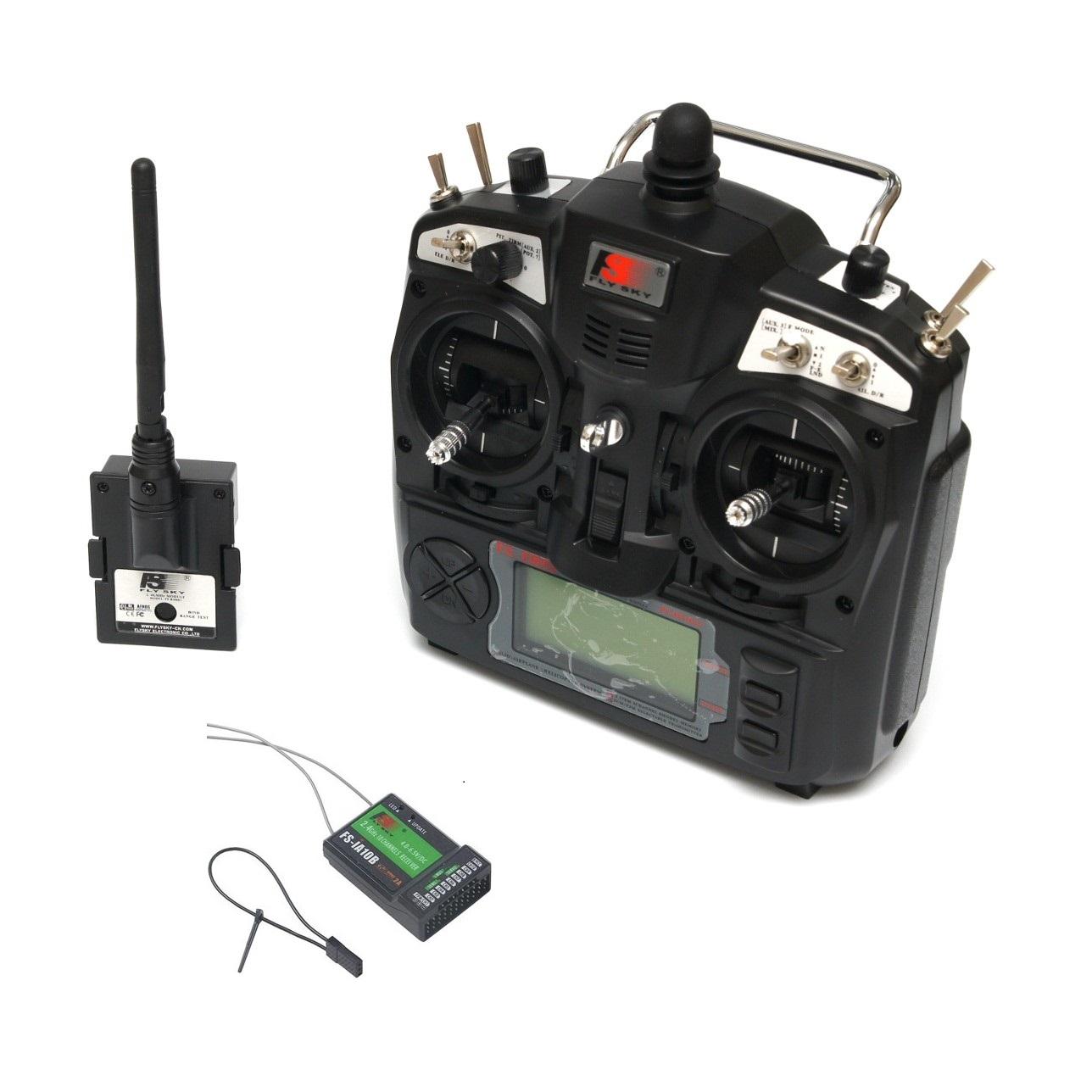 FS-TH9X 2 4GHz 9CH Upgrade Transmitter with FS-IA10B Receiver