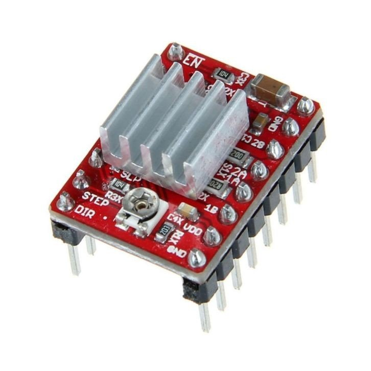 A4988 Stepper Motor Driver with Heat Sink (Heavy Quality)