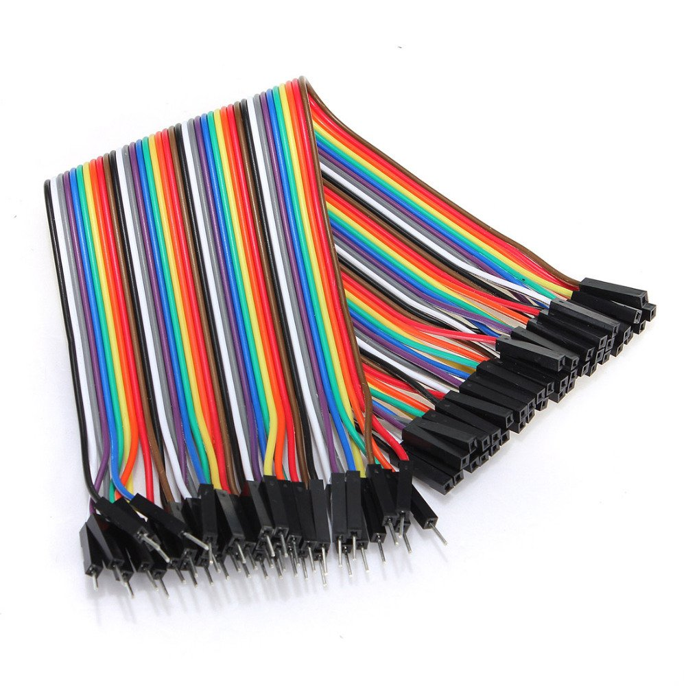 Buy Male to Female Jumper Wires 40Pcs 20cm