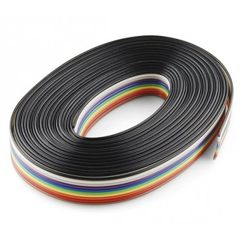 Multicolor Flat Ribbon Cable 10 wire per 1 meter - 2pcs on