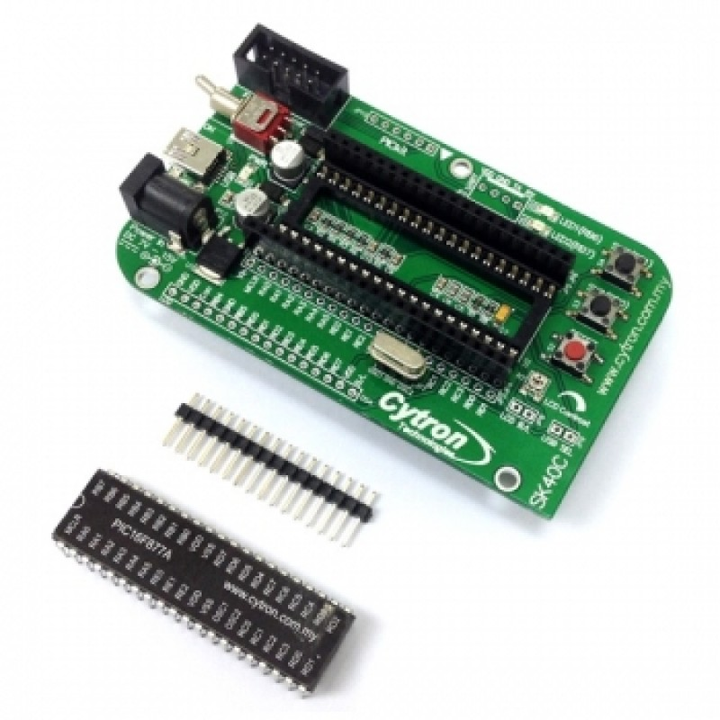 40 pins PIC Start-Up Kit Combo 1 - SK40C PIC16F877A (SK40C1)