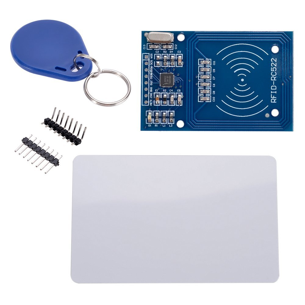 RFID Reader/Writer RC522 SPI S50 CARD AND KEYCHAIN - Robu in | Indian  Online Store | RC Hobby | Robotics