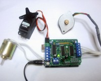 L293D Motor Driver/Servo Shield for Arduino