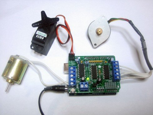 Buy L293D Motor Driver/Servo Shield for Arduino