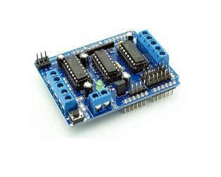 Buy L293D Motor DriverServo Shield for Arduino