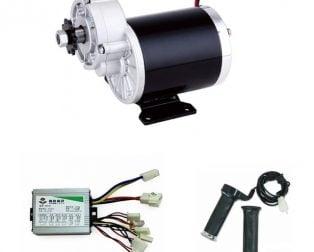 MY1020Z 600W 36V (GB)+Motor Controller+Accelerator+Brake