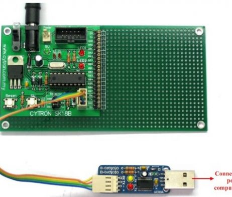 18 Pins PIC Start-up Kit - SK18B