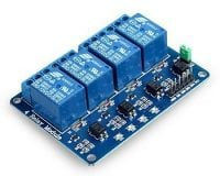 4 Channel Isolated 5V 10A Relay Module opto coupler For Arduino PIC AVR DSP ARM