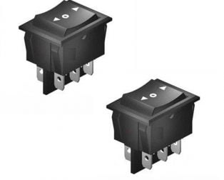 DPDT Rocker Switch-2pcs