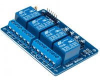 4 Channel Isolated 5V 10A Relay