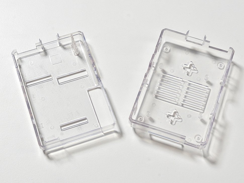 Clear Case for Raspberry Pi Model 3