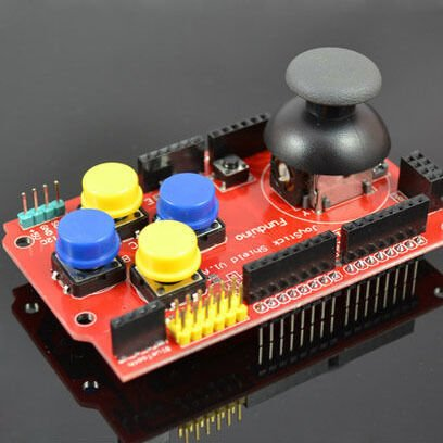 Arduino Joystick Shield - Funduino with nrf24l01+ Bluetooth+Nokia LCD headers