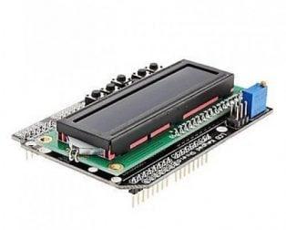 1602 LCD Board Keypad Shield Blue Backlight