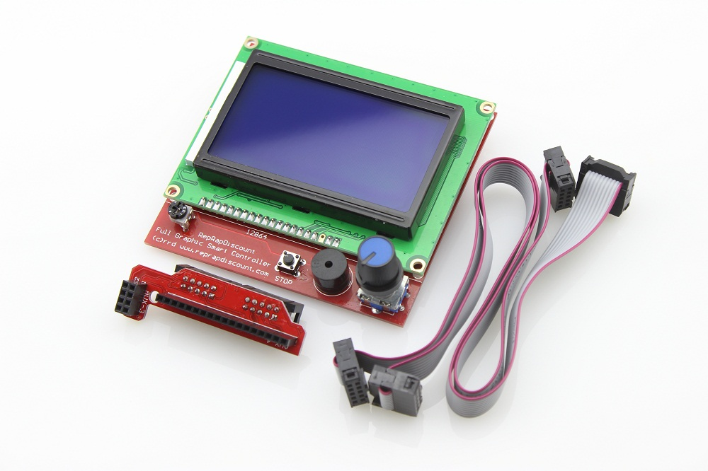 3D printer 128x64 Smart LCD controller for ramps 1 4