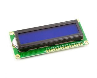 LCD1602 Parallel LCD Display with Blue Backlight