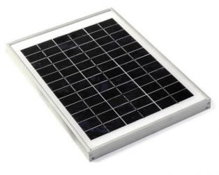 10W 12Volts 36-cell Solar Panel (41 x 40 CM)