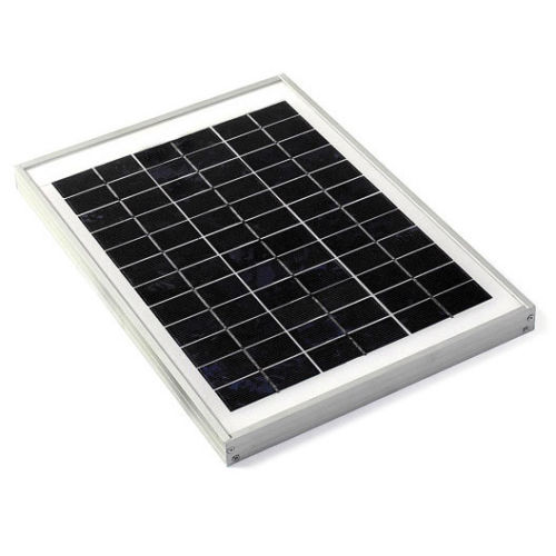 Buy 12v 36 Cell 10 Watt Solar Panel 41x30cm At Low Price Robu In