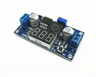 5PCS-LM2596-LM2596S-power-module-LED-Voltmeter-DC-DC-adjustable-step-down-power-supply-module-with