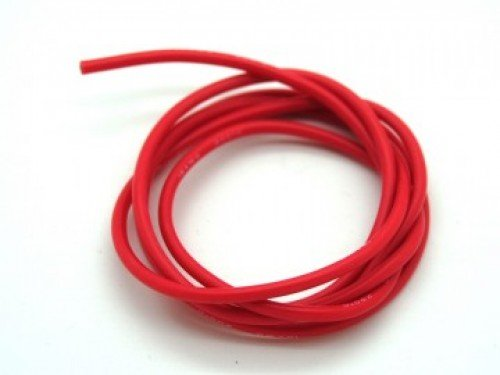 High Quality 22AWG Silicone Wire 3m (Red)