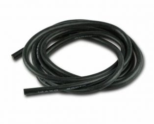 Silikonkabel-25mm-1m-SCHWARZ-silicone-wire-25mm-1m-RED-14AWG