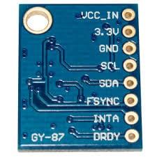 GY 87 10DOF MPU6050+HMC5883L+BMP180 3-axis Sensor Module