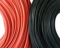 High Quality 12AWG Silicone Wire 1m (Black)