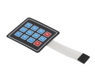 4x3 Matrix 12 keys Membrane Switch Keypad for Arduino, ARM and other MCU