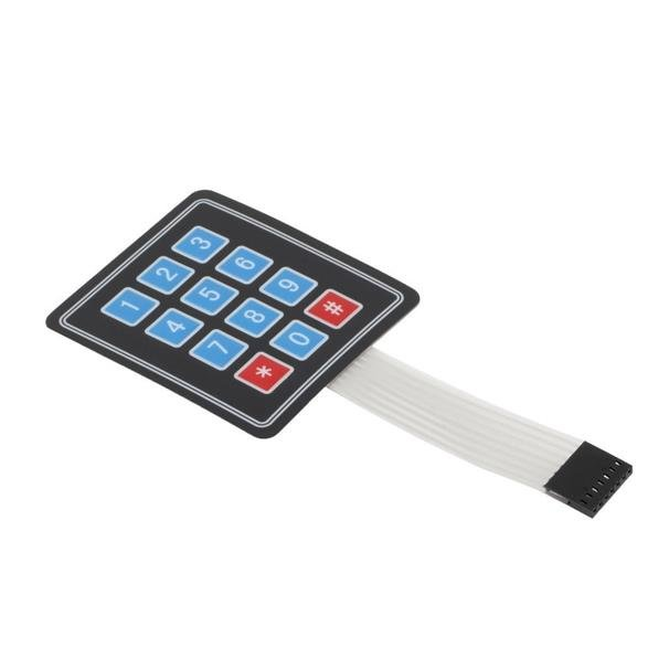 4x3 Matrix 12 keys Membrane Switch Keypad - Robu in | Indian Online Store |  RC Hobby | Robotics