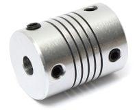 Aluminium Flexible Shaft Coupling 5mm x 5mm