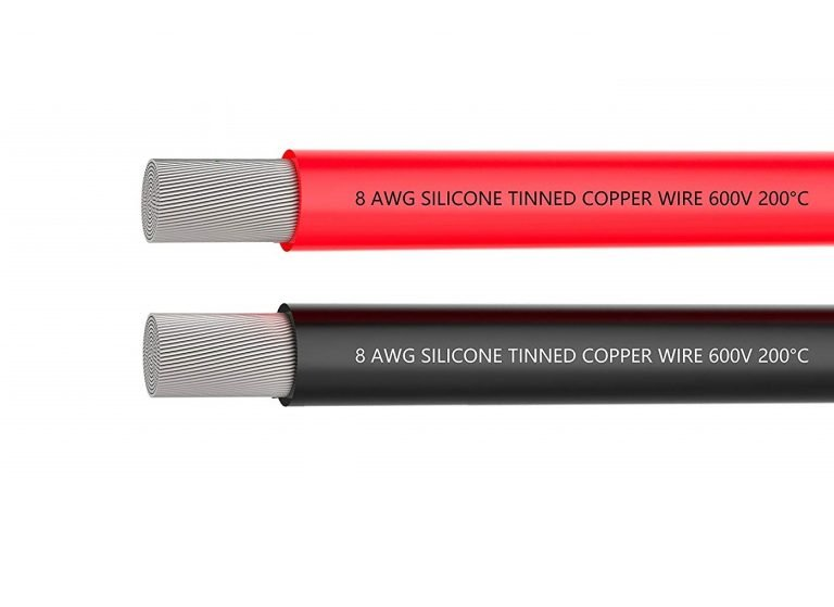 High Quality 8AWG Silicone Wire 1m (Black)