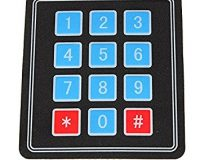 4x3 Matrix 12 keys Membrane Switch Keypad - Robu in | Indian