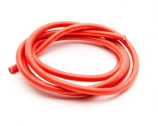 High Quality 12AWG Silicone Wire 1m (Red)