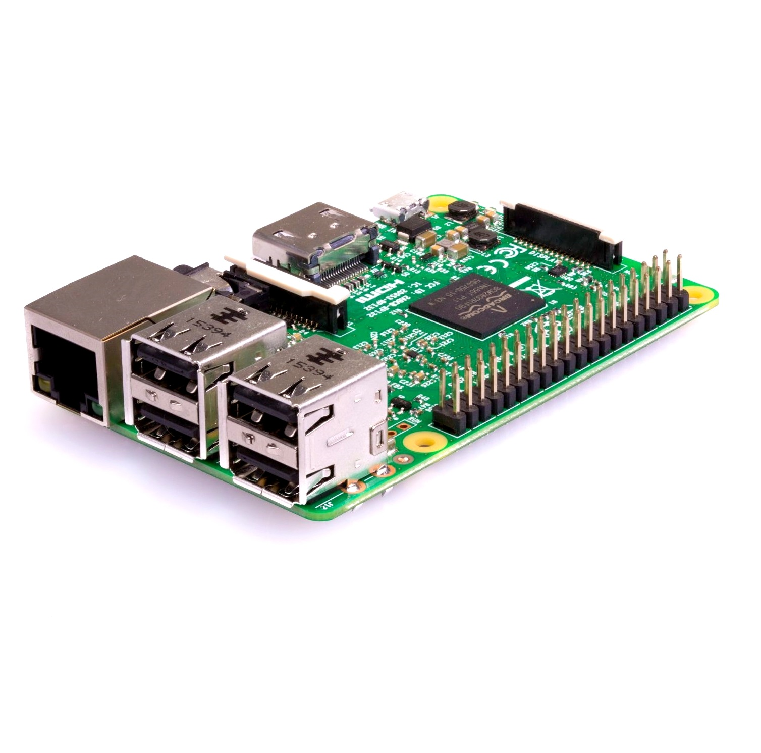Raspberry Pi 3 - Model B Original with Onboard WiFi and Bluetooth - Robu in  | Indian Online Store | RC Hobby | Robotics
