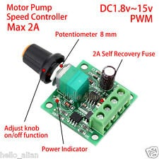 DC Motor PWM Speed Regulator 1 8V, 3V, 5V, 6V, 12V-2A speed control switch  function - Robu in | Indian Online Store | RC Hobby | Robotics
