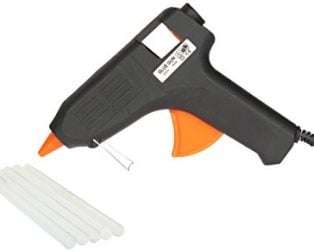 Standard 60 Watt Corded Glue Gun with 5 Glue Sticks