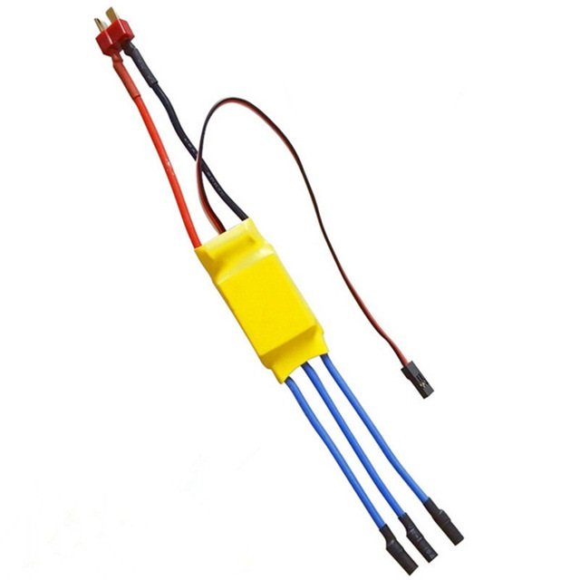 Standard 30a Bldc Esc Electronic Speed Controller With Connector