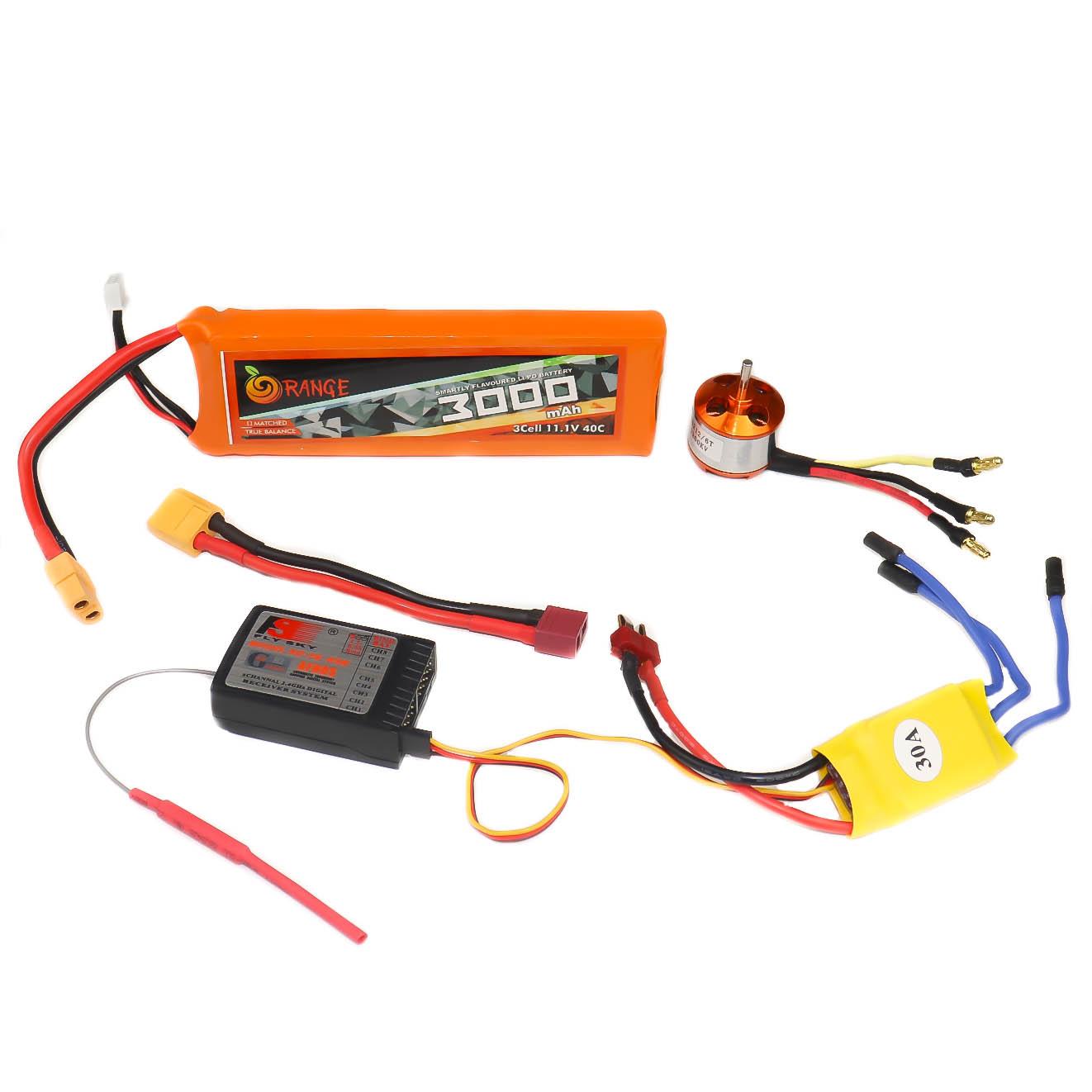 Standard ESC 30A Connections