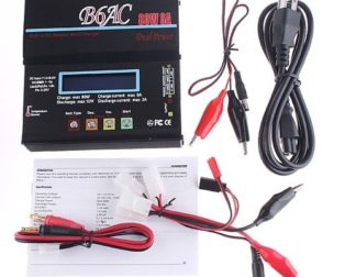 B6AC 80W 6A NiCd/MH/LiLo/LiFe/Pb RC Battery Balance Charger Lithium Battery Charger