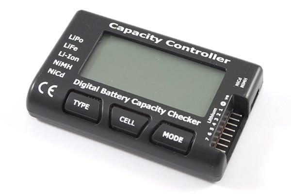 """2.1"""" RC CellMeter 7 Digital Battery Capacity Checker for NiCd / NiMH / LiPo / LiFe / Li-ion"""