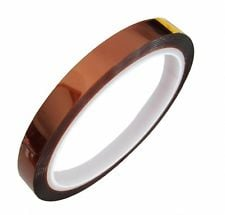 10mm 100ft High Temperature Heat Resistant Polyimide Koptan Tape Hot