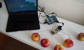 Capacitive Touch Sensors on the Raspberry Pi